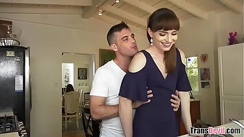 Married couple with a T-girl